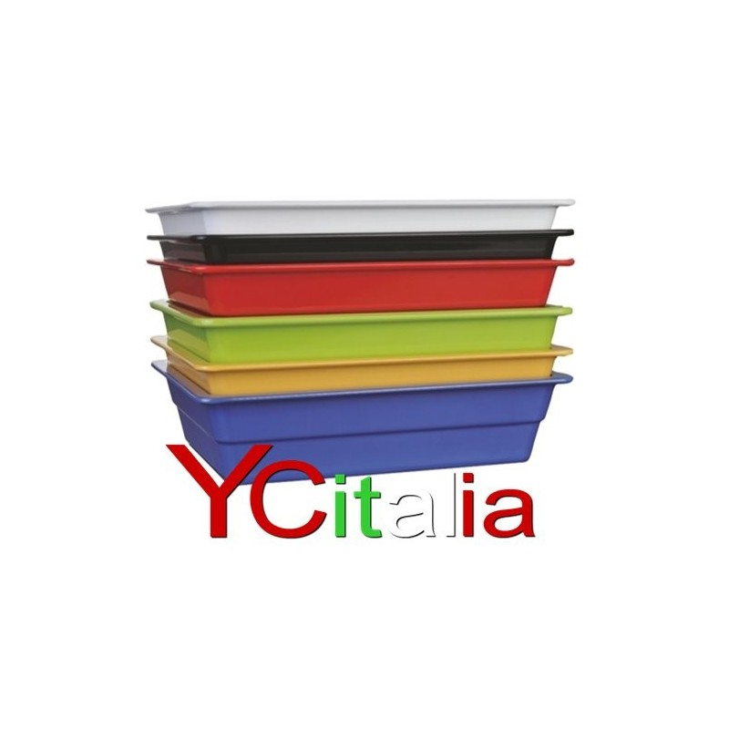 Bacinelle 1/1 GN gastronorm melamina colorate
