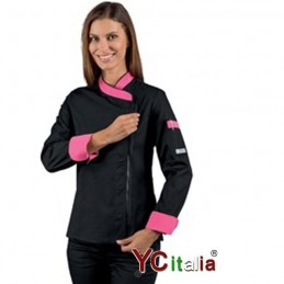 Giacca chef Lady con zip
