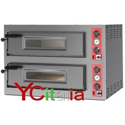 Forno pizza Entry Max 9+9 da 33 due camere
