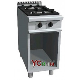 Gas kitchen with 2 burners...