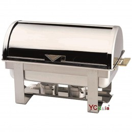 Chafing in acciaio inox