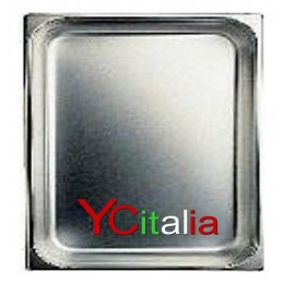Bacinelle 2/3 GN gastronorm acciaio inox 18/10 aisi 304