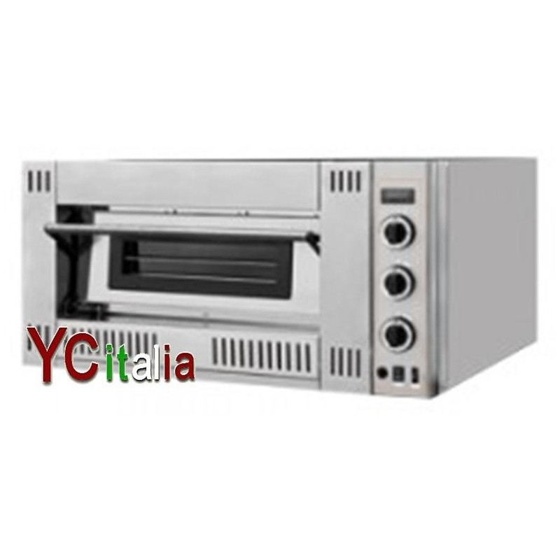 Forno pizza a gas 6pizze x 30cm