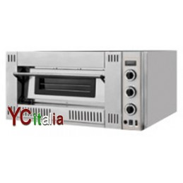Forno pizza a gas 4pizze x 30cm